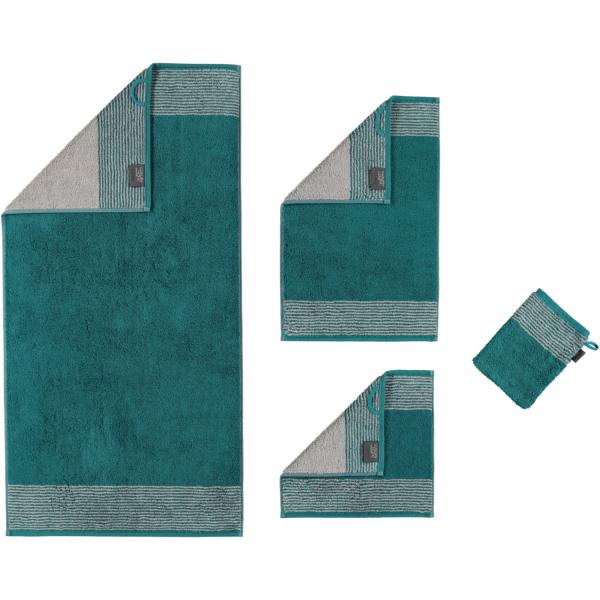 Cawö - Luxury Home Two-Tone 590 - Farbe: smaragd - 44
