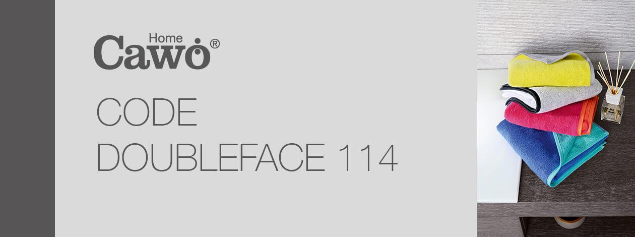 Cawö - Code Doubleface 114 - Farbe: sterling - 79 Seiflappen 30x30 cm Detailbild 2