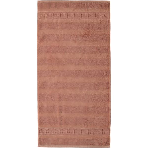 Cawö - Noblesse Uni 1001 - Farbe: 369 - zimt Handtuch 60x110 cm