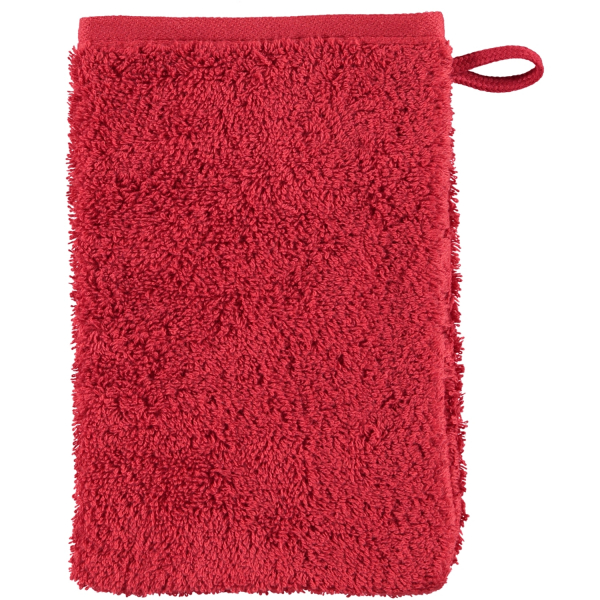 Cawö Heritage 4000 - Farbe: bordeaux - 280 Waschhandschuh 16x22 cm