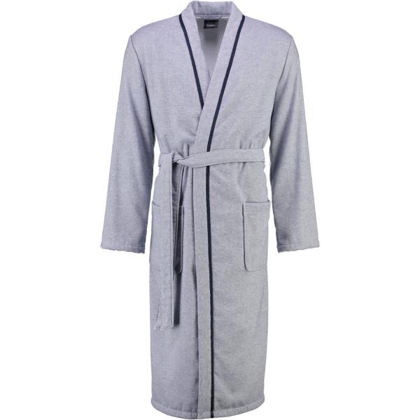 Cawö - Herren Bademantel Denim Kimono 5707 - Farbe: blau - 16 M