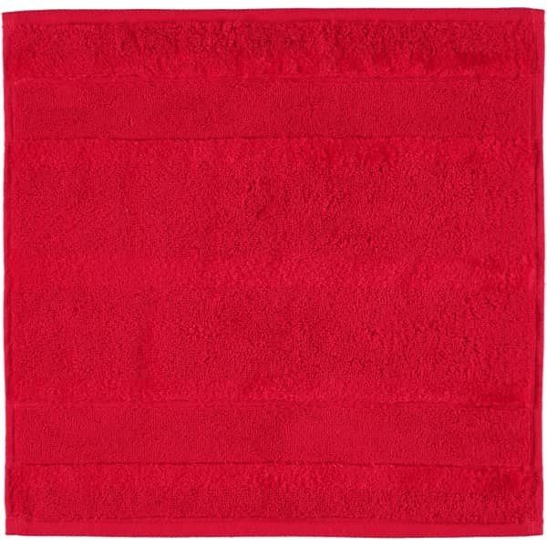 Cawö - Noblesse2 1002 - Farbe: rot - 203 Seiflappen 30x30 cm