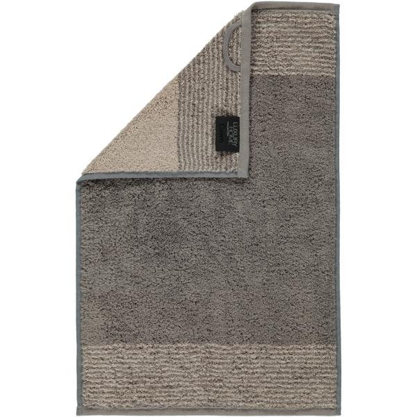 Cawö - Luxury Home Two-Tone 590 - Farbe: graphit - 70 Gästetuch 30x50 cm