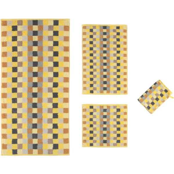 Cawö - Unique Karo 942 - Farbe: citrin - 55