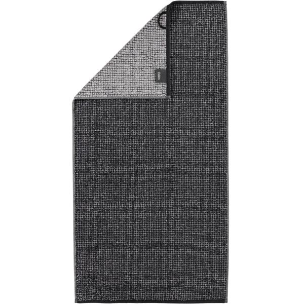 Cawö Zoom Allover 122 - Farbe: schwarz - 97 Handtuch 50x100 cm