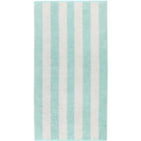 Cawö Reed Streifen 957 - Farbe: mint - 47 Duschtuch 70x140 cm