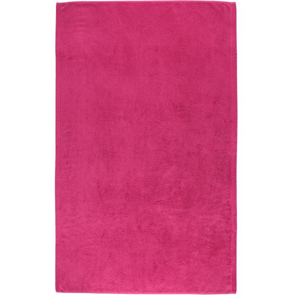 Cawö - Life Style Uni 7007 - Farbe: pink - 247 Badetuch 100x160 cm
