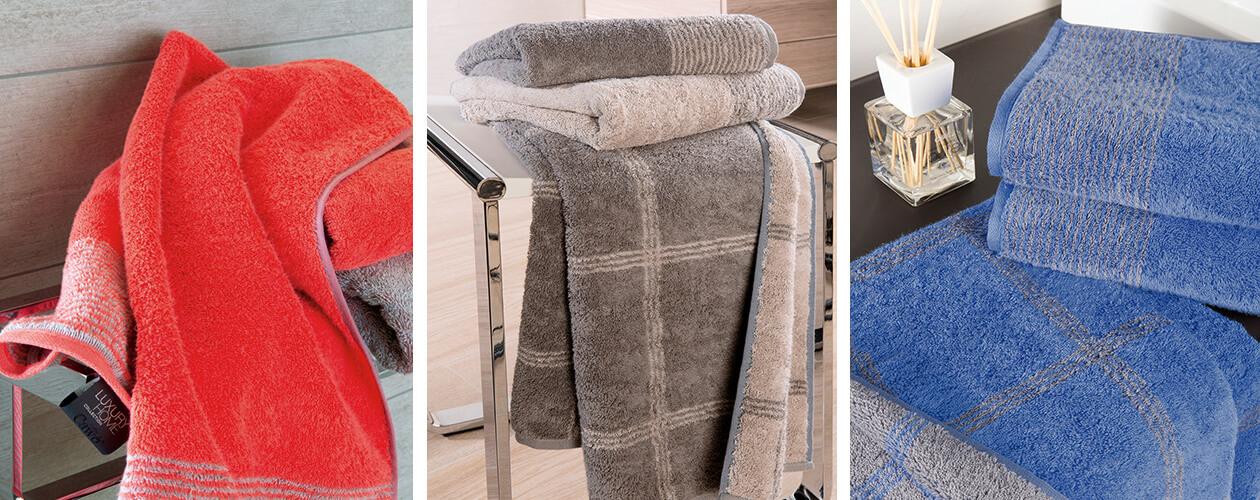 Cawö - Luxury Home Two-Tone C-Allover 605 - Farbe: schiefer - 77 Handtuch 50x100 cm Detailbild 3