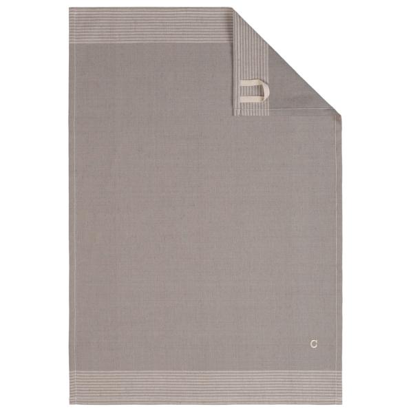 Cawö Home Two-Tone 590 - Geschirrtuch 50x70 cm - Farbe: graphit - 70