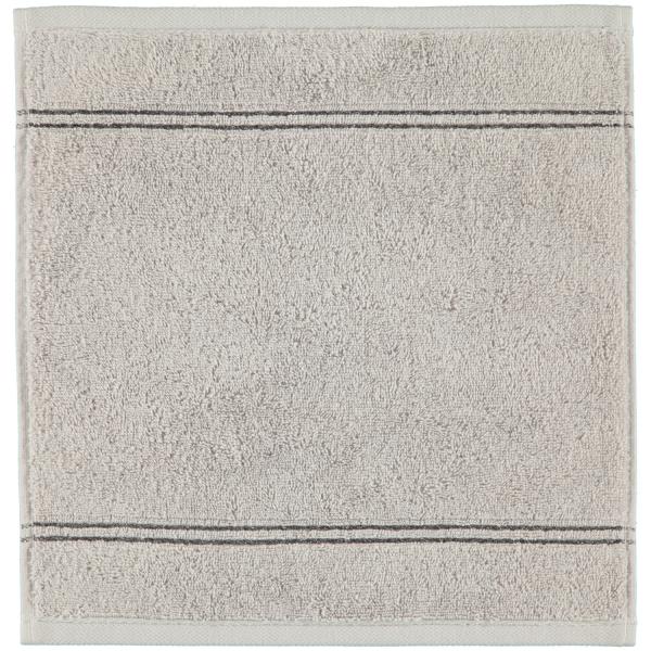 Cawö Carat Borte 580 - Farbe: platin - 705 Seiflappen 30x30 cm
