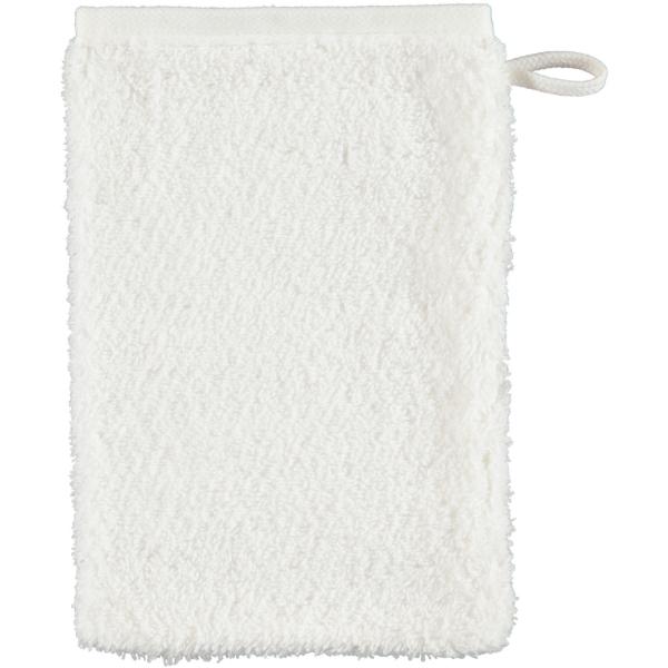 Cawö Heritage 4000 - Farbe: weiß - 600 Waschhandschuh 16x22 cm