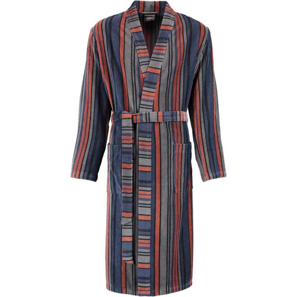 Cawö Herren Bademantel Kimono 2509 - Farbe: kupfer - 17 XL