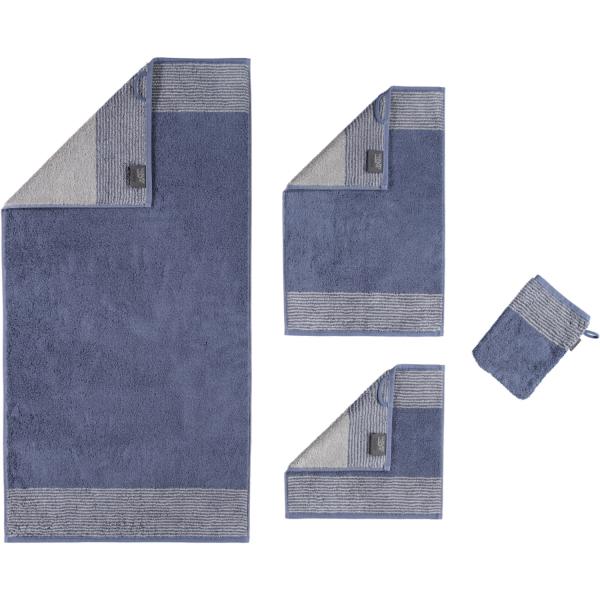 Cawö - Luxury Home Two-Tone 590 - Farbe: nachtblau - 10