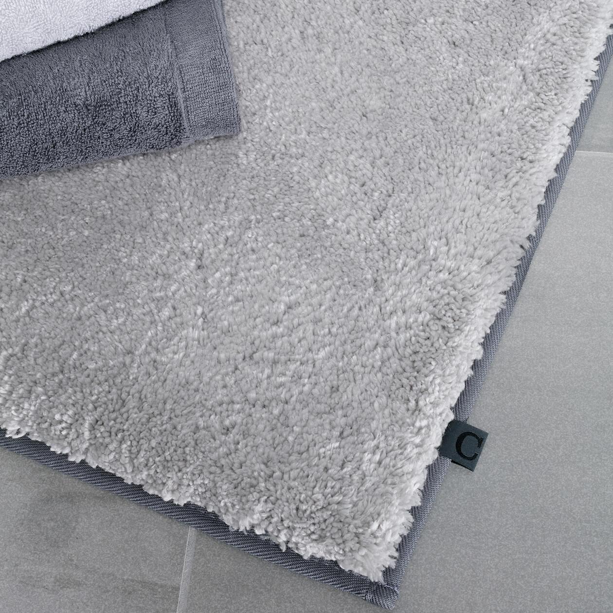 Cawö Home Badteppich Frame 1006 - Farbe: weiß - 600 70x120 cm Detailbild 1