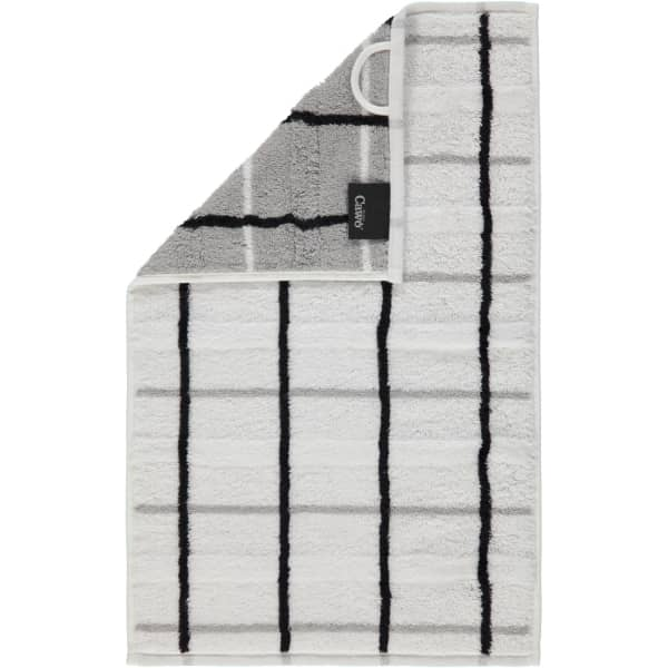 Cawö - Noblesse Square 1079 - Farbe: weiß - 67 Gästetuch 30x50 cm