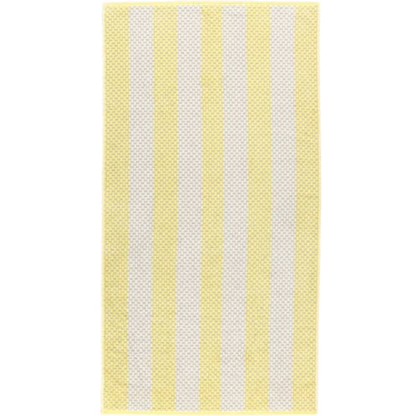 Cawö Reed Streifen 957 - Farbe: lemon - 57 Duschtuch 70x140 cm