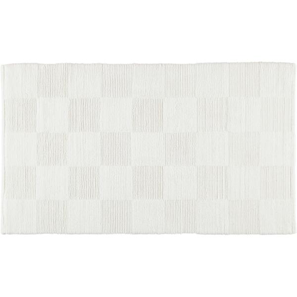 Cawö Home - Badteppich 1005 - Farbe: weiß - 600 60x100 cm