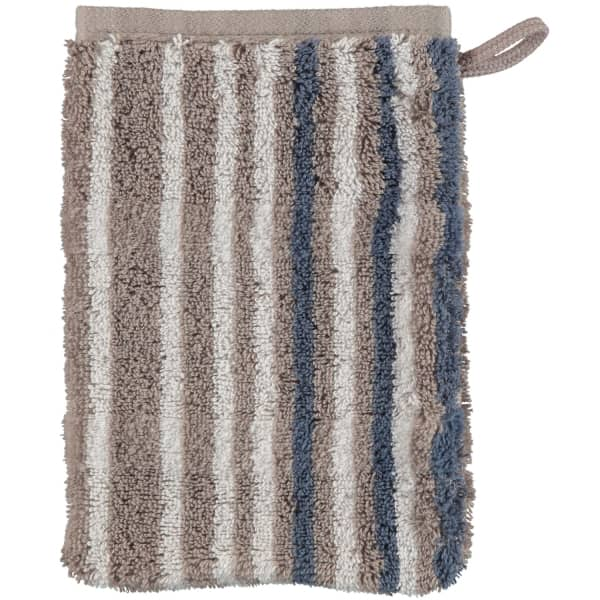 Cawö - Noblesse Lines 1082 - Farbe: graphit - 77 Waschhandschuh 16x22 cm