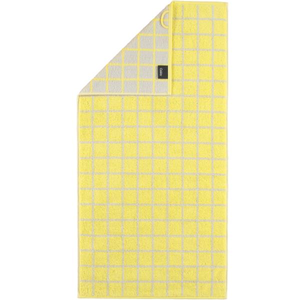 Cawö Campus Karo 959 - Farbe: lemon - 57 Duschtuch 70x140 cm