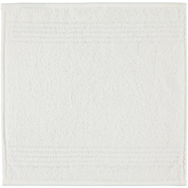 Cawö Essential Uni 9000 - Farbe: weiß - 600 Seiflappen 30x30 cm