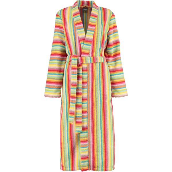 Cawö - Damen Bademantel Life Style - Kimono 7080 - Farbe: multicolor - 25 M