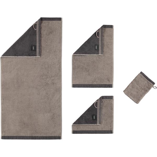 Cawö Plaid Doubleface 7070 - Farbe: graphit - 77