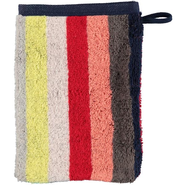 Cawö Splash Blockstreifen 997 - Farbe: multicolor - 12 Waschhandschuh 16x22 cm
