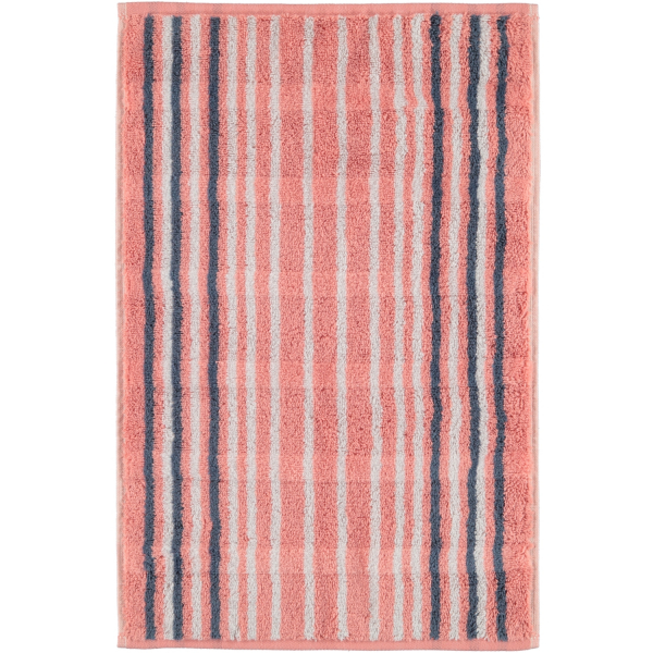 Cawö - Noblesse Lines 1082 - Farbe: rouge - 22 Gästetuch 30x50 cm