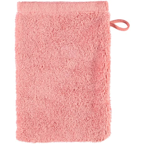 Cawö - Life Style Uni 7007 - Farbe: rouge - 214 Waschhandschuh 16x22 cm