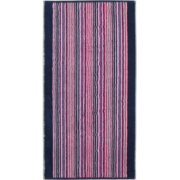 Cawö - Remake Streifen 2020 - Farbe: beere-multicolor - 13 Handtuch 50x100 cm