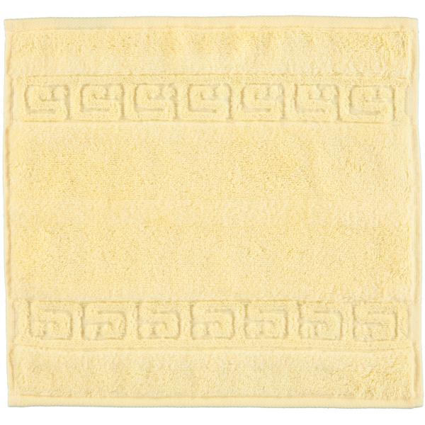 Cawö - Noblesse Uni 1001 - Farbe: honig - 581 Seiflappen 30x30 cm