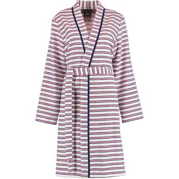 Cawö Damen Bademantel 3341 Kimono - Farbe: soft pink - 26