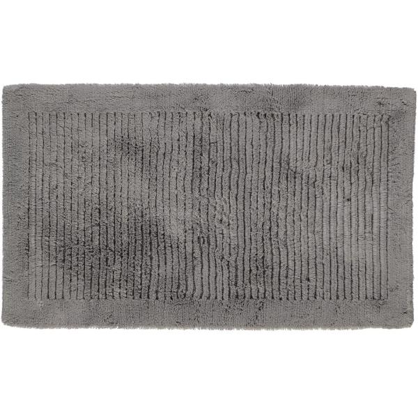Cawö Home - Badteppich Luxus 1002 - Farbe: graphit - 779 60x100 cm