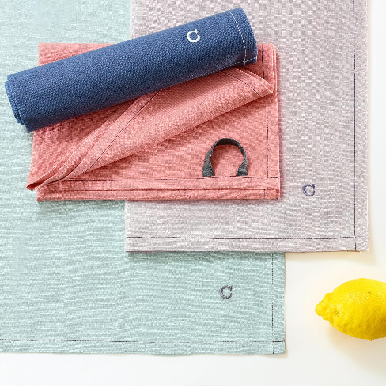 Cawö Home Solid 500 - Geschirrtuch 50x70 cm - Farbe: bordeaux - 280 Detailbild 3