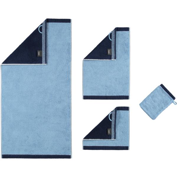 Cawö Plaid Doubleface 7070 - Farbe: sky - 11