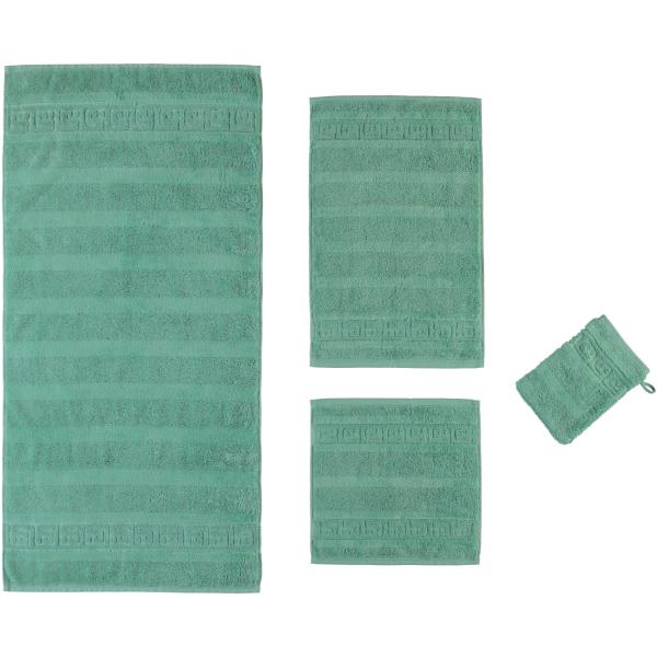 Cawö - Noblesse Uni 1001 - Farbe: 474 - agavegrün