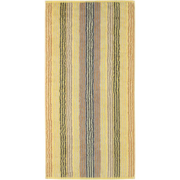 Cawö - Unique Streifen 944 - Farbe: citrin - 55 Handtuch 50x100 cm