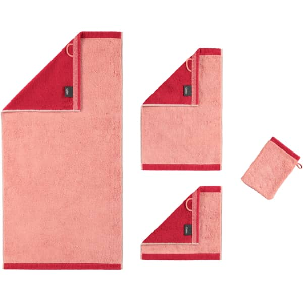 Cawö Plaid Doubleface 7070 - Farbe: rouge - 22