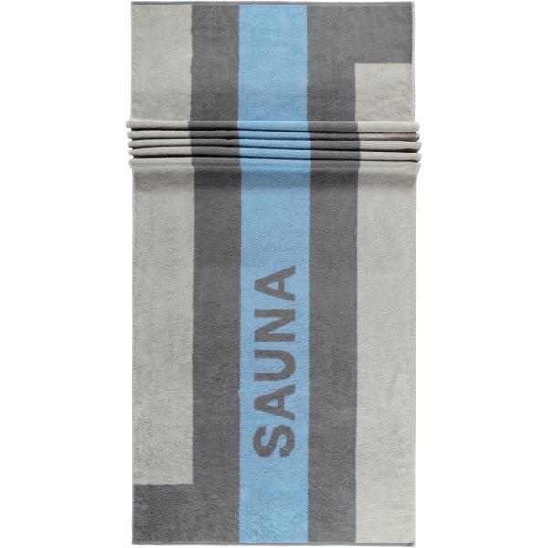 Cawö Saunatuch Sauna 232 - Größe: 80x200 - Farbe: sky - 17