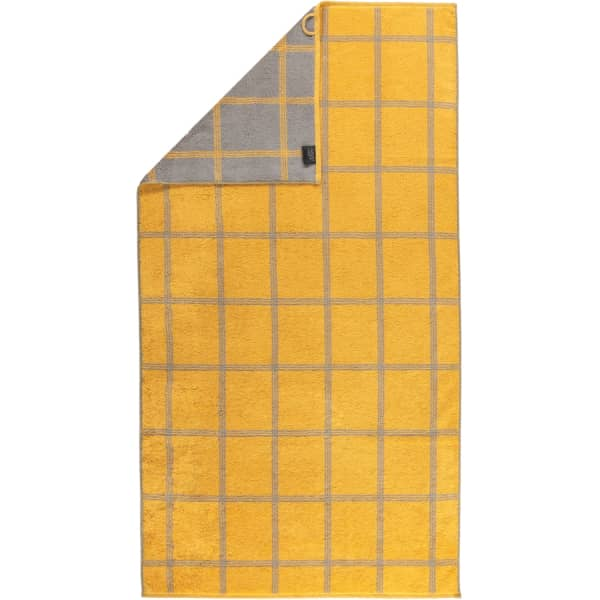 Cawö - Luxury Home Two-Tone Grafik 604 - Farbe: curry - 57 Duschtuch 80x150 cm