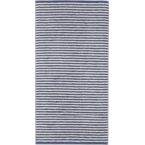 Cawö - Campus Ringel 955 - Farbe: nachtblau - 17 Handtuch 50x100 cm