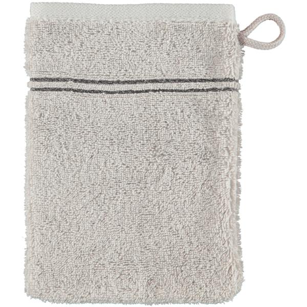 Cawö Carat Borte 580 - Farbe: platin - 705 Waschhandschuh 16x22 cm