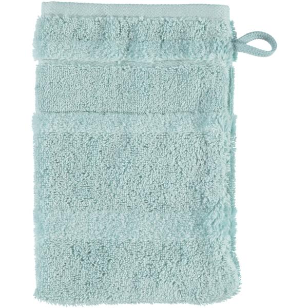 Cawö - Noblesse2 1002 - Farbe: seegrün - 455 Waschhandschuh 16x22 cm