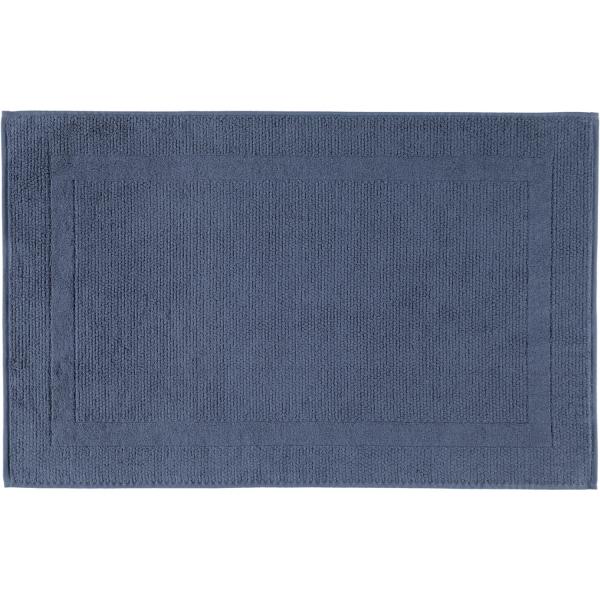 Cawö Badematte Modern 304 - Größe: 50x80 cm - Farbe: nachtblau - 111