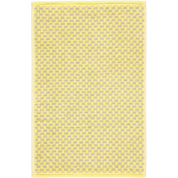 Cawö Reed Allover 956 - Farbe: lemon - 57 Gästetuch 30x50 cm