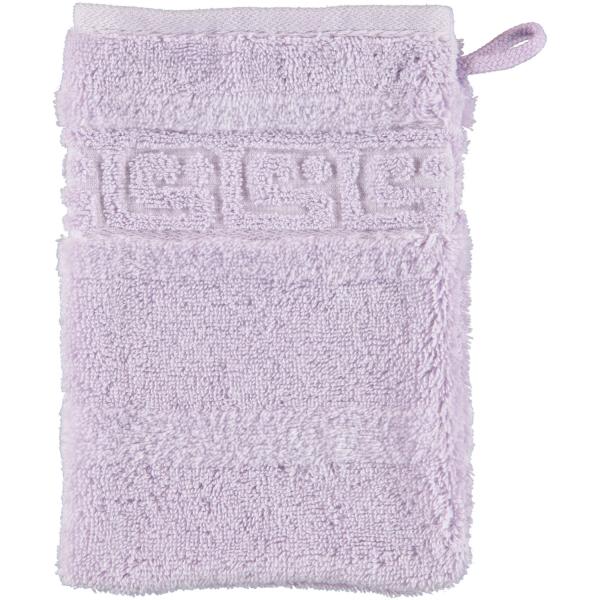 Cawö - Noblesse Uni 1001 - Farbe: lavendel - 806 Waschhandschuh 16x22 cm