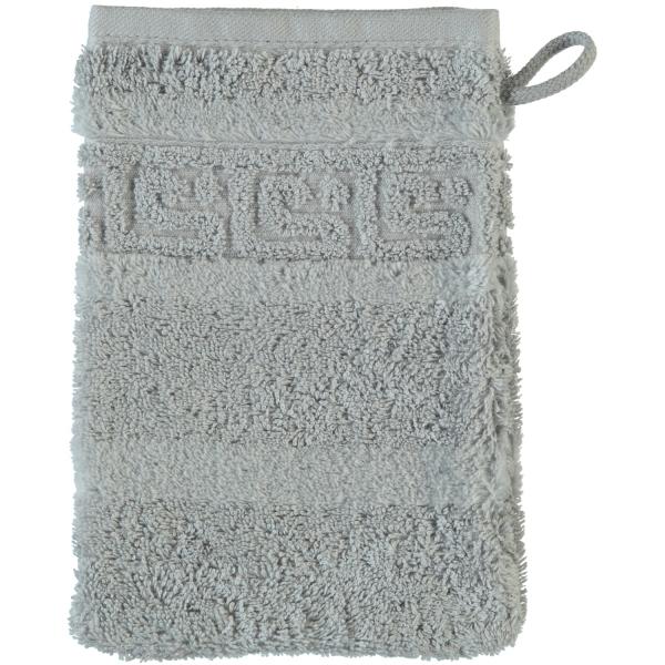 Cawö - Noblesse Uni 1001 - Farbe: platin - 705 Waschhandschuh 16x22 cm