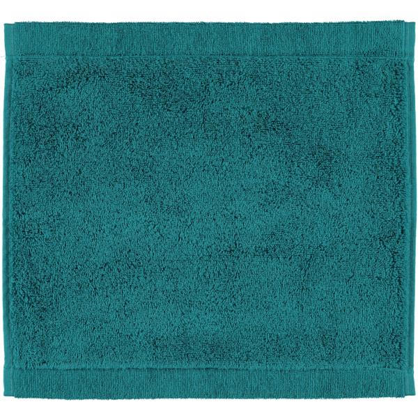 Cawö - Life Style Uni 7007 - Farbe: smaragd - 401 Seiflappen 30x30 cm
