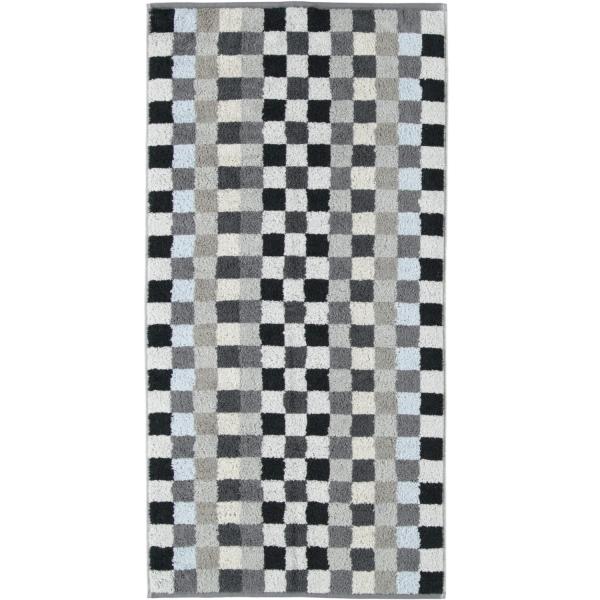 Cawö - Unique Karo 942 - Farbe: anthrazit - 77 Handtuch 50x100 cm
