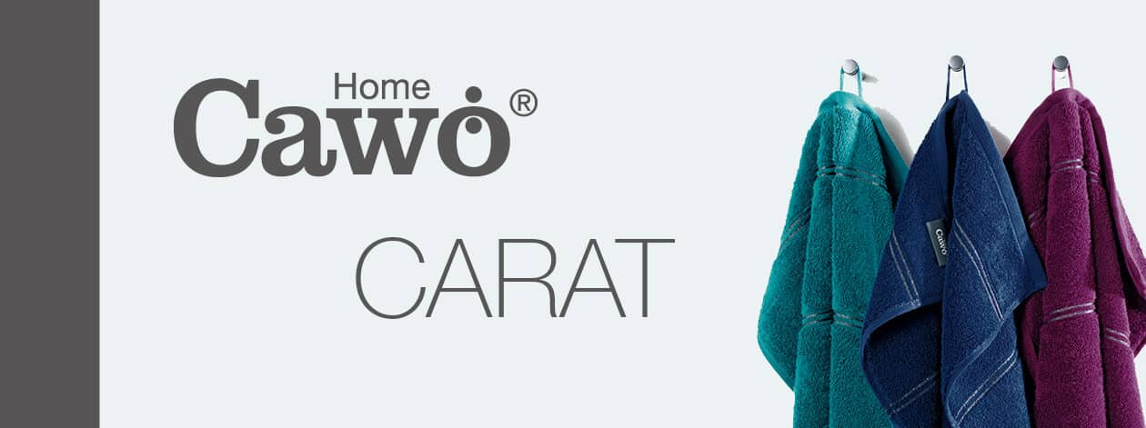 Cawö Carat Borte 580 - Farbe: weiß - 600 Detailbild 2